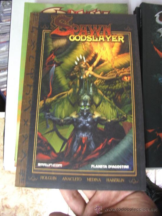 SPAWN GODSLAYER Nº 1 ¡ TOMO 160 PAGINAS ! WORLD COMICS / PLANETA (Tebeos y Comics - Planeta)