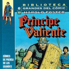Cómics: BIBLIOTECA GRANDES DEL COMIC - PRINCIPE VALIENTE Nº 22 (1973-75) - PLANETA. Lote 35316303
