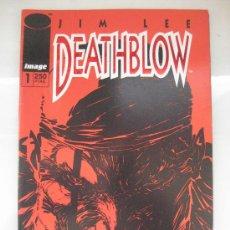 Cómics: DEATHBLOW. Nº 1 Y 2. WORLD COMICS. IMAGE. Lote 35421858