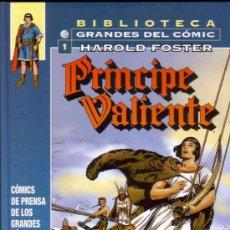 Cómics: PRINCIPE VALIENTE # 1 - 1937 A 1938 (PLANETA DEAGOSTINI,2005) - HAROLD FOSTER. Lote 36056639