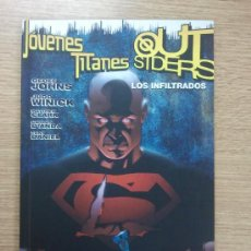Cómics: JOVENES TITANES OUTSIDERS LOS INFILTRADOS. Lote 36243491