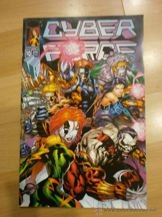 CYBER FORCE VOL. 2 Nº 10 (Tebeos y Comics - Planeta)