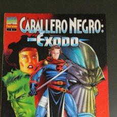 Cómics: CABALLERO NEGRO 1 EXODO FORUM. Lote 36760965