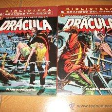 Cómics: 2 NUMEROS DRACULA – BIBLIOTECA GRANDES DEL COMICS – NºS 1 Y 2 - PRECINTADO. Lote 36803691