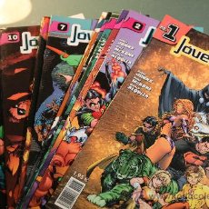 Cómics: JOVENES TITANES VOLUMEN 1 DEL 1 AL 10 PLANETA. Lote 37059450