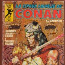 Cómics: COMIC LA ESPADA DE CONAN SERIE ORO Nº 28 MAS COMIC EN MI TIENDA VISITALA. Lote 37085584