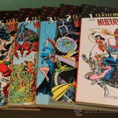 Cómics: CLASICOS DC LOS NUEVOS TITANES DEL 1 AL 6 PLANETA. Lote 37227842
