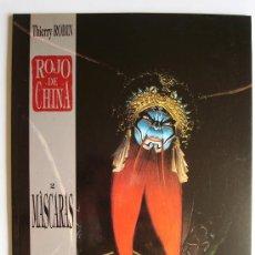 Cómics: ROJO DE CHINA Nº 2 - MÁSCARAS - THIERRY ROBIN - PLANETA (GRAN TAMAÑO). Lote 37283094