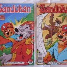 Cómics: LOTE SANDOKAN Nº 8 Y 14 SERIE DE DIBUJOS OFRECIDA POR TELECINCO. Lote 37312752
