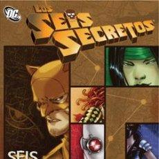 Cómics: LOS SEIS SECRETOS : SEIS GRADOS DE DESOLACIÓN DE GAIL SIMONE & BRAD WALKER & JIMMY PALMIOTTI. Lote 37361786