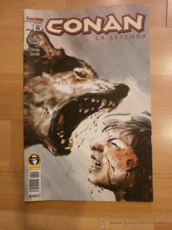 CONAN, LA LEYENDA Nº 15 (Tebeos y Comics - Planeta)