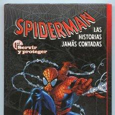 Cómics: SPIDERMAN - LAS HISTORIAS JAMÁS CONTADAS - TOMO 1 - PLANETA DEAGOSTINI - 2004 (IMPECABLE). Lote 37610732