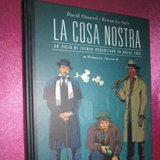Cómics: LA COSA NOSTRA / UN SIGLO DE CRIMEN ORGANIZADO / PRIMERA EPOCA. Lote 38280183