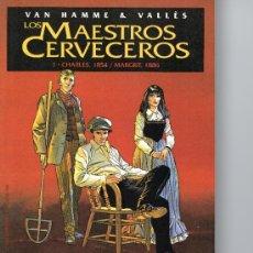 Cómics: LOS MAESTROS CERVECEROS Nº 1 - VAN HAMME & VALLÈS - PLANETA. Lote 38691732