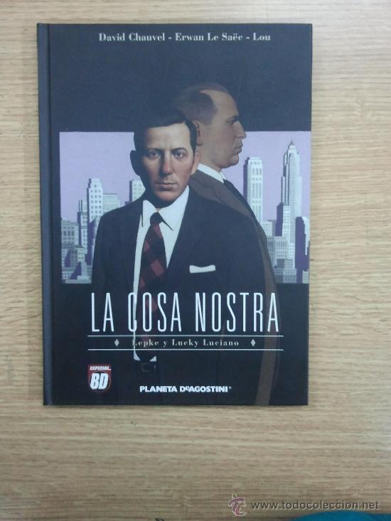 COSA NOSTRA #2 LEPKE Y LUCKY LUCIANO (Tebeos y Comics - Planeta)