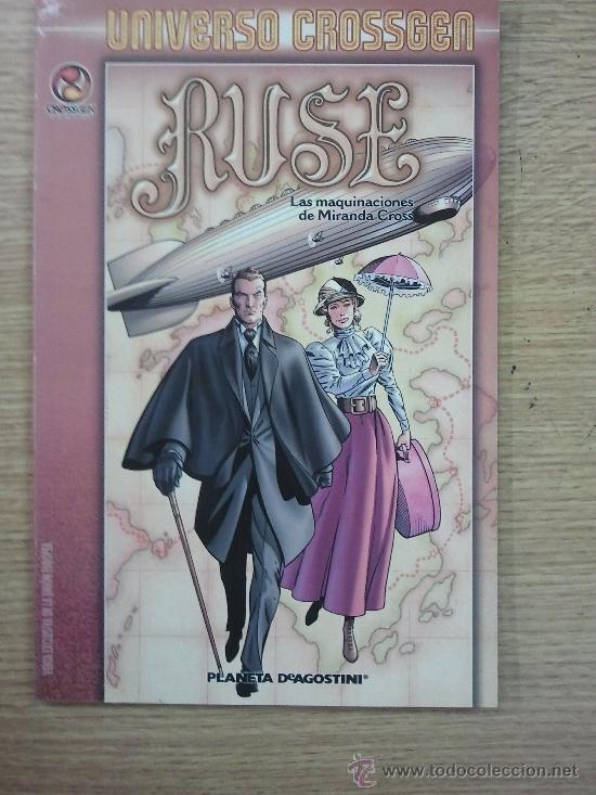 RUSE LAS MAQUINACIONES DE MIRANDA CROSS (Tebeos y Comics - Planeta)