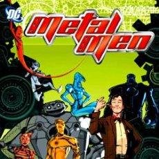 Cómics: METAL MEN DE DUNCAN ROULEAU - TOMO PLANETA 200 PÁG. - DC COMICS. Lote 79951642