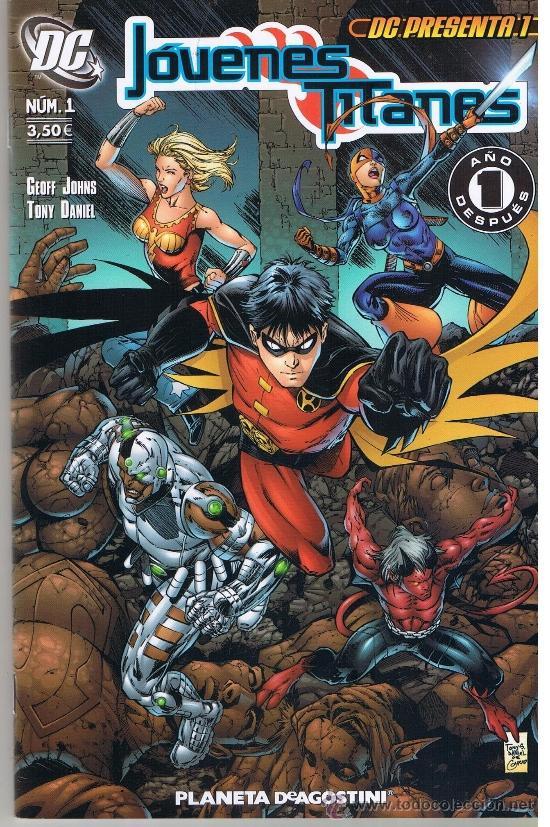 DC PRESENTA NUMERO 1. JOVENES TITANES. PLANETA (Tebeos y Comics - Planeta)