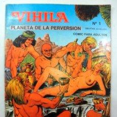Cómics: VIHILA PLANETA DE LA PERVERSIÓN Nº 1 B& P DISTRIBUCION * CÓMIC PARA ADULTOS. Lote 39499712