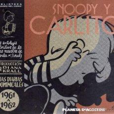 Cómics: SNOOPY Y CARLITOS - CHARLES M. SCHULZ 1961 A 1962 - CJ21. Lote 39510655
