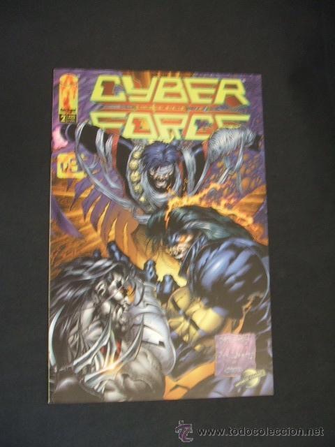 CYBER FORCE - Nº 2 - IMAGE - PLANETA - (Tebeos y Comics - Planeta)