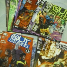 Cómics: LOTE OUTSIDERS (2005-2010) 4 COLECCIONES COMPLETAS VOL 1, DC PRESENTA, BATMAN Y LOS OUTSDERS Y V. 2. Lote 39976604