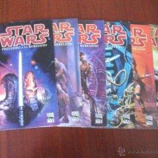 Cómics: STAR WARS PRELUDIO A LA REBELION COMPLETA PLANETA DEAGOSTINI. Lote 40294279