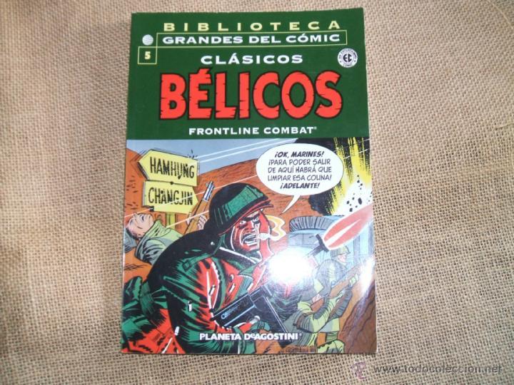 BIBLIOTECA GRANDES DEL COMIC Nº 5 CLASICOS BELICOS (Tebeos y Comics - Planeta)