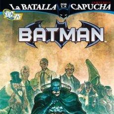 Cómics: BATMAN, LA BATALLA POR LA CAPUCHA : COMPENDIO Nº 1 DE FABIAN NICIEZA & DAVID HINE & CHRIST YOST. Lote 48743808