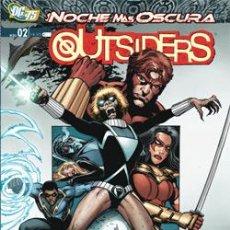 Cómics: LOS OUTSIDERS Nº 2 : LA NOCHE MÁS OSCURA DE PETER TOMASI & FERNANDO PASARIN & DEREC DONOVAN. Lote 208564936