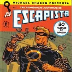 Comics : EL ESCAPISTA LOTE DE 5 Nº (1-2-3-5-6). Lote 53953848
