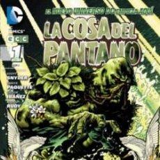 Cómics: LA COSA DEL PANTANO Nº 1 DE SCOTT SNYDER & YANICK PAQUETTE & VICTOR IBAÑEZ & MARCO RUDY. Lote 42098995