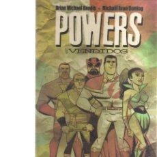 Cómics: POWERS: LOS VENDIDOS - BENDIS, OEMING - CJ12. Lote 42196304