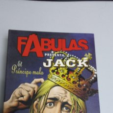 Cómics: FABULAS PRESENTA : JACK Nº 3 EL PRINCIPE MALO / BILL WILLINGHAM / VERTIGO PLANETA. Lote 42251399