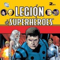 Cómics: LEGION DE SUPERHEROES LOTE DE 2 Nº (2-3). Lote 42405873