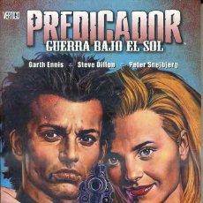 Cómics: ENNIS / DILLON / SNEJBJERG : PREDICADOR - GUERRA BAJO EL SOL (PLANETA, 2006). Lote 42865112