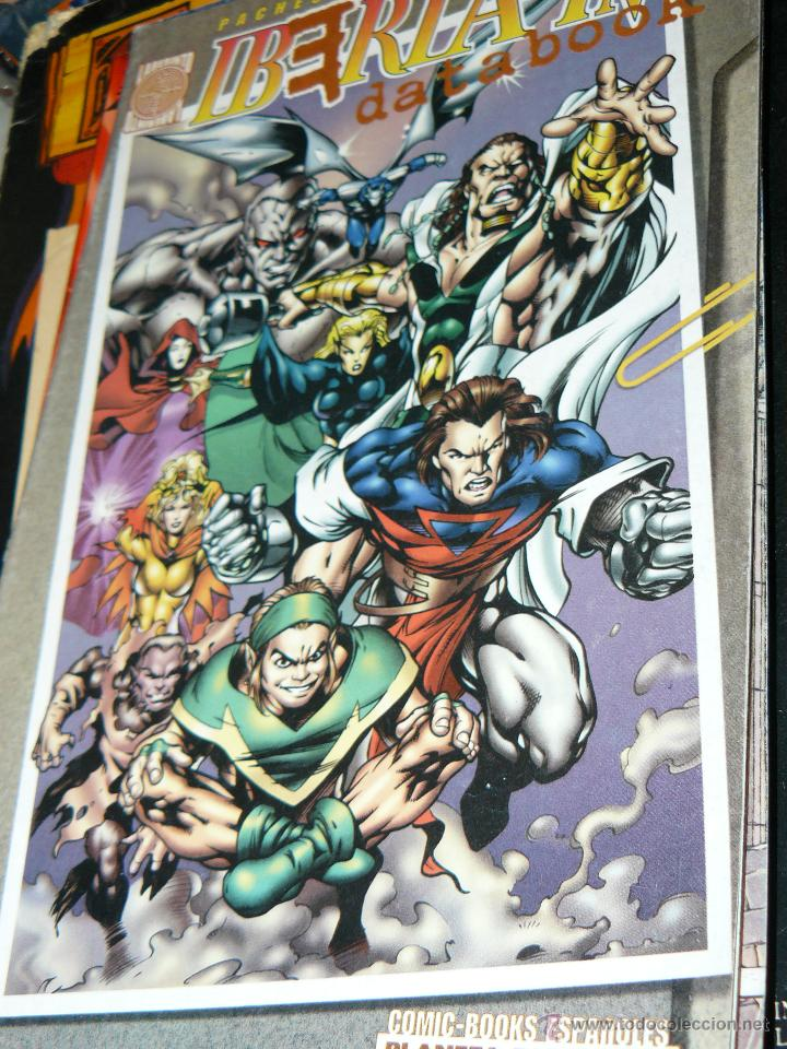 TEBEOS-COMICS CANDY - IBERIA INC DATABOOK 1997 - LABERINTO - PACHECO FONTERIZ MARIN - RARO *AA99 (Tebeos y Comics - Planeta)