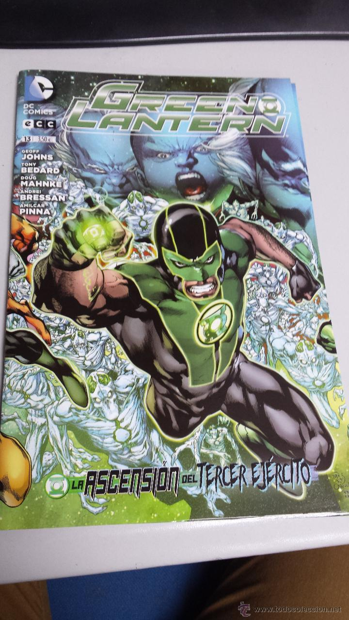 GREEN LANTERN VOL. 3 Nº 13 - GEOFF JOHNS - DC - ECC (Tebeos y Comics - Planeta)