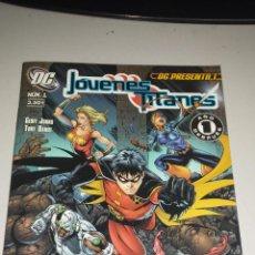 Cómics: JOVENES TITANES Nº 1 VOL 2 DC: PRESENTA Nº 1 - GEOFF JOHNS / PLANETA. Lote 43138253