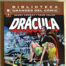Cómics: DRÁCULA 1 BIBLIOTECA GRANDES DEL CÓMIC. Lote 43143560