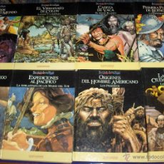 Cómics: RELATOS DEL NUEVO MUNDO COMPLETA 25 TOMOS. PLANETA QUINTO CENTENARIO 1992. BUEN ESTADO.. Lote 43216427