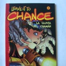 Cómics: LEAVE IT TO CHANCE 1 - LA LLUVIA DEL CHAMÁN - JAMES ROBINSON / PAUL SMITH - PVP 6,95 €. Lote 43442611