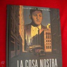 Cómics: LA COSA NOSTRA - LA LOCURA DEL HOLANDES - CHAUVEL & ERWAN LE SAEE - CARTONE8. Lote 43619903