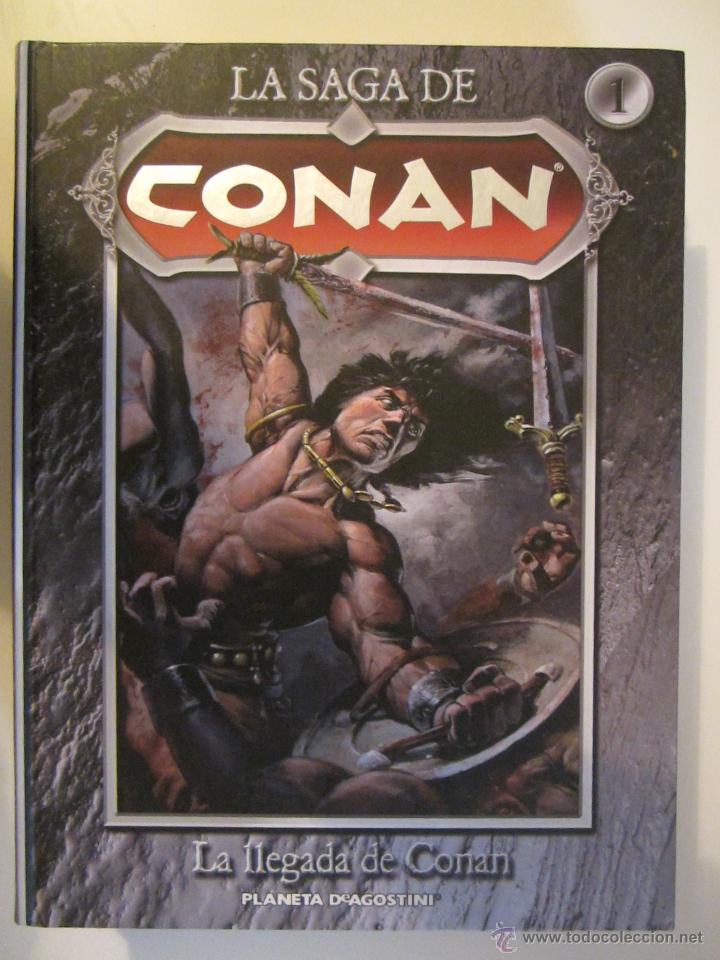 LA SAGA DE CONAN Nº 1 (Tebeos y Comics - Planeta)