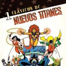 Cómics: CLÁSICOS DC: NUEVOS TITANES LOTE DE 5 Nº (3-4-7-8-10). Lote 43994001