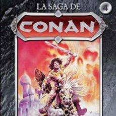 Cómics: LA SAGA DE CONAN Nº 4 : LA ESPADA DE SKELOS PLANETA DE AGOSTINI. Lote 278821478
