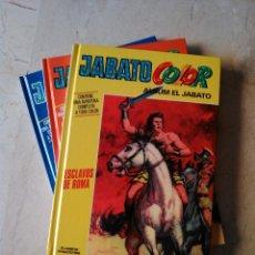 Cómics: JABATO COLOR TAPA DURA NºS 1, 2 Y 3 DE LA COLECCIÓN DE 53 (VER FOTOS). Lote 44218123