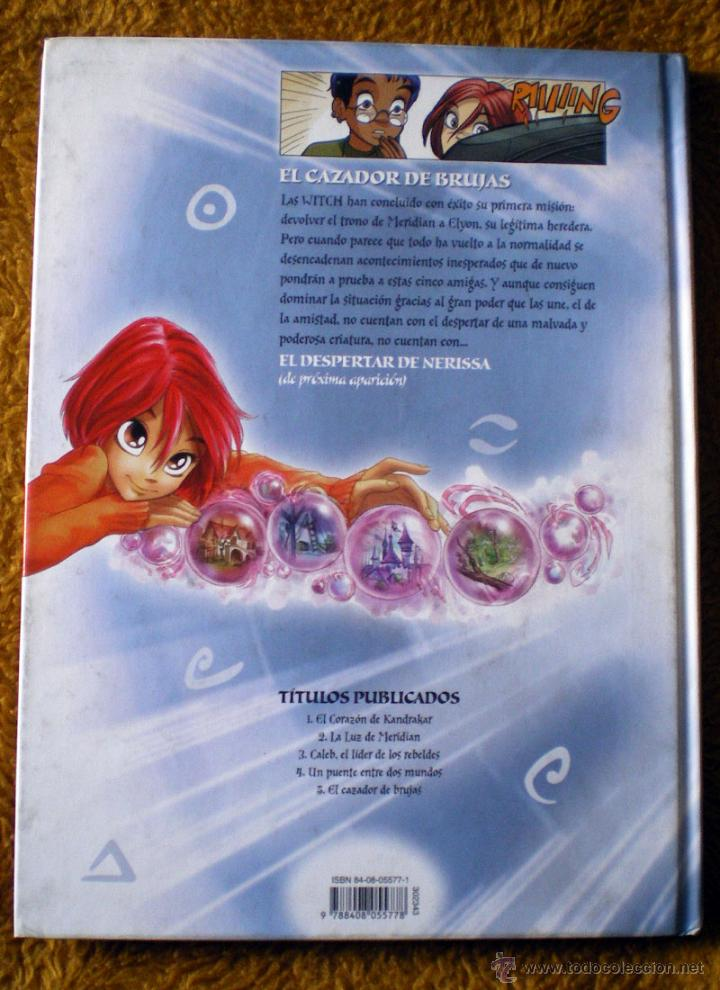 Cómics: Libro de Planeta Junior Witch el cazador de brujas nº 5 nuevo - Foto 2 - 49656828