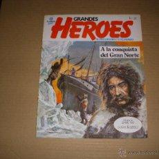 Fumetti: GRANDES HEROES Nº 22, A LA CONQUISTA DEL GRAN NORTE, DE PLANETA, RÚSTICA. Lote 210600267