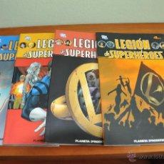 Cómics: LEGION DE SUPERHEROES 4Nº COMPLETA. Lote 45224617